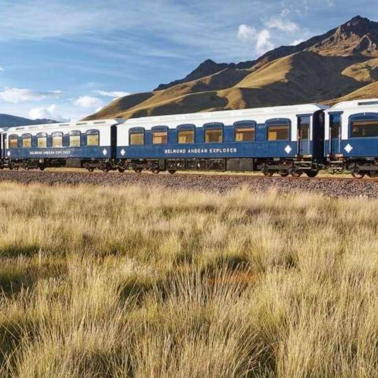 Presentatie bijzondere treinreizen